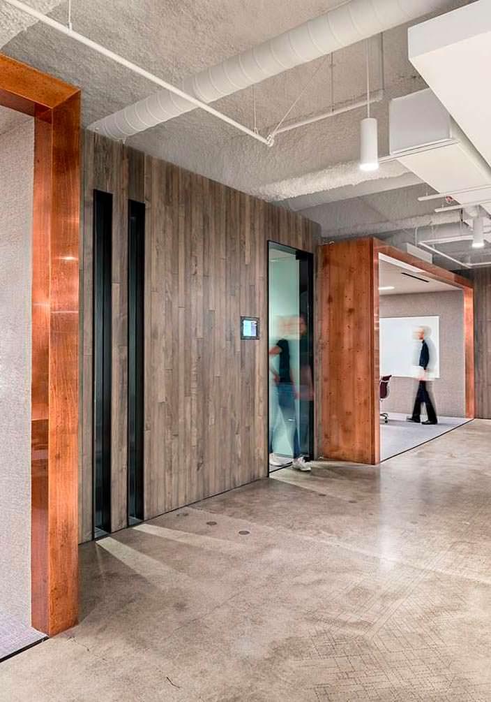 Дизайн интерьера офиса Uber