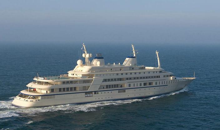 Самая дорогая яхта в мире #6 Al Said. Цена $330 млн.