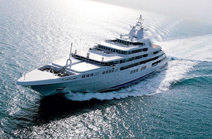 Самая дорогая яхта в мире #4 Dubai. Цена $350 млн.