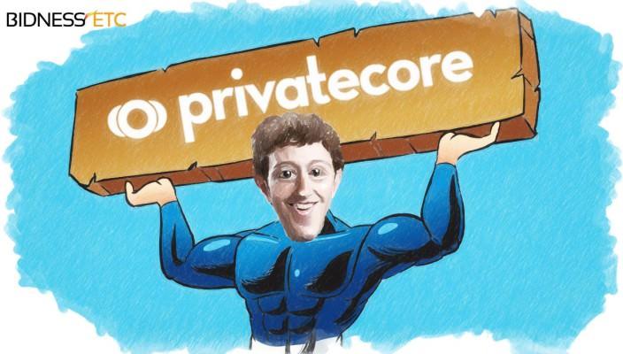 Соцсеть Facebook поглотила компанию PrivateCore