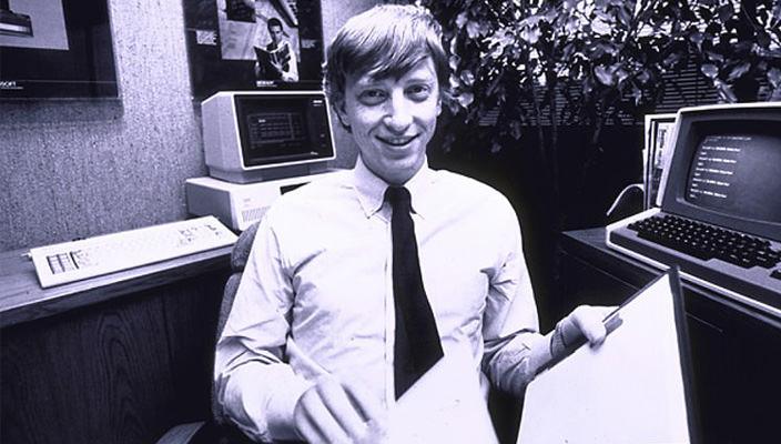 Фото в молодости | Билл Гейтс
