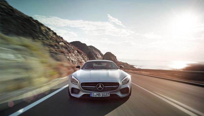 Новый суперкар Mercedes-AMG GT | фото, видео, цена
