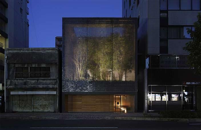 Дом из стеклянных блоков