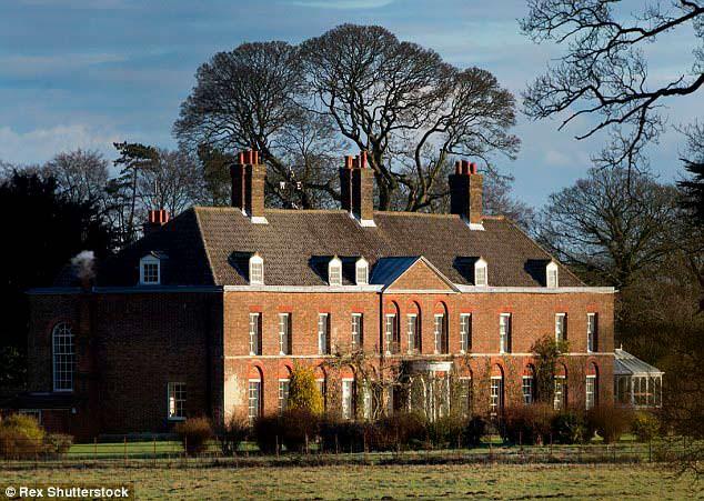 Загородный дом Принца Уильяма и Кейт Миддлтон