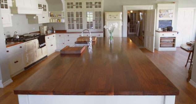 Кухня в загородном доме Принца Уильяма