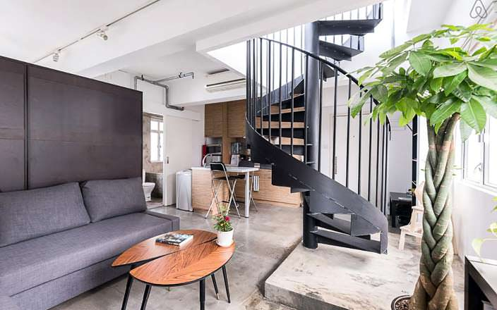 Фото квартиры в Гонконге
