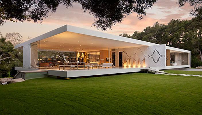 Современные стеклянные дома. Топ-10 | фото, инфо