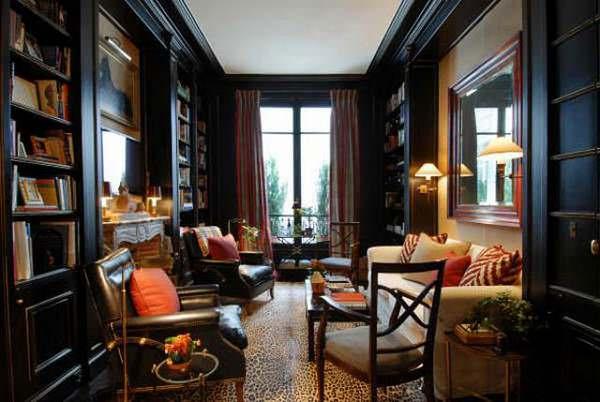 Интерьер маленькой квартиры в Париже