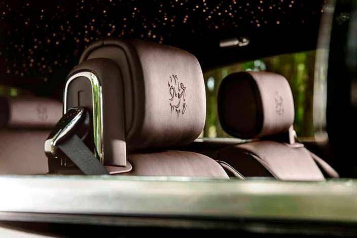 Фото | Арабские надписи в Rolls-Royce Phantom Coupe