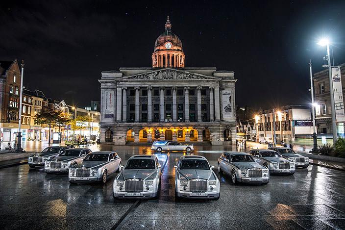 Премиум катафалк Rolls-Royce Phantom Hearse   фото, обзор
