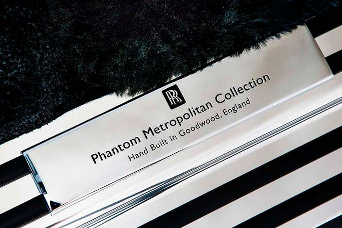 Фото | Табличка Rolls-Royce Phantom Metropolitan Collection