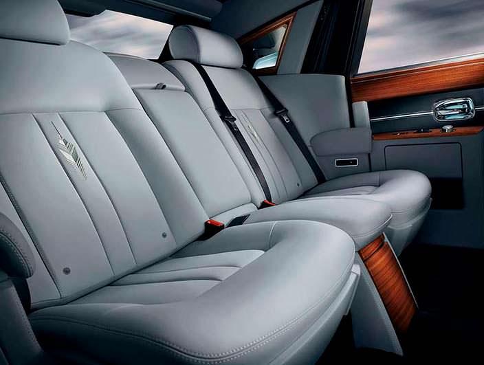 Фото | Сиденья Rolls-Royce Phantom Metropolitan