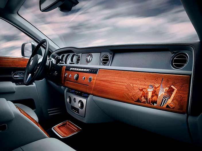 Фото | Салон Rolls-Royce Phantom Metropolitan Collection