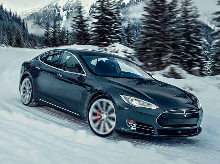 Фото | Мощный электрокар Tesla Model S P85D