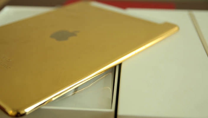 Золотой Apple iPad Air 2 от ювелирного дома Karalux