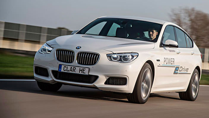 BMW 5-Series GT Power eDrive
