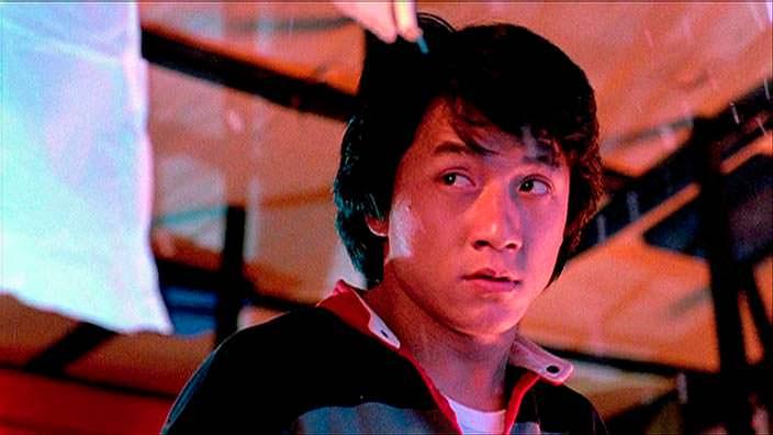 Джеки Чан в 1980 году
