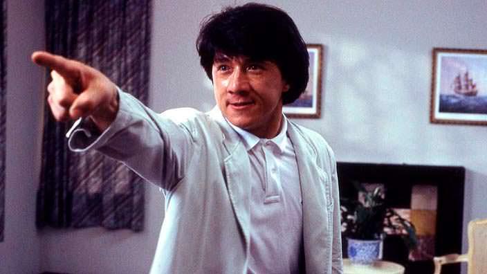 Джеки Чан в 1987 году