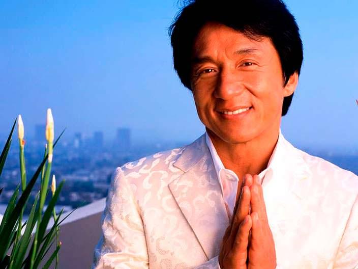 Джеки Чан в 1992 году