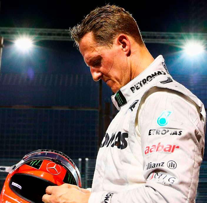 Фото | Михаэль Шумахер до аварии в 2013 году