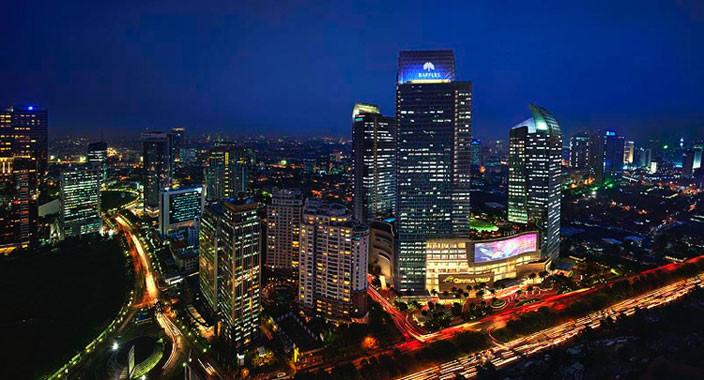 Новый отель Raffles Jakarta