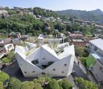 Уникальный дом в виде цветка в Сеуле | фото, инфо