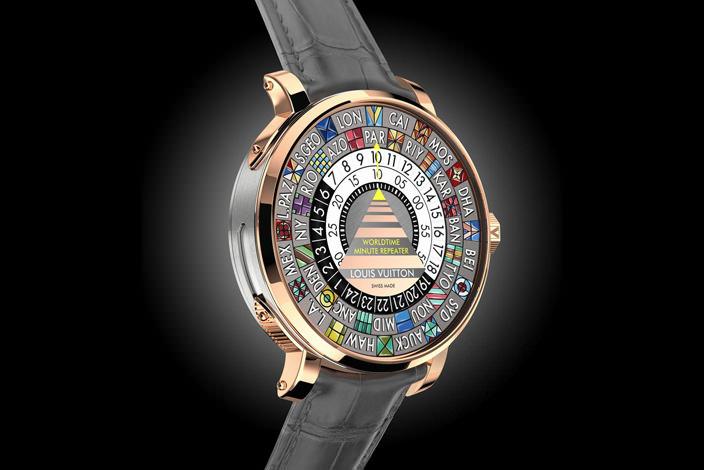 Вышли новые часы для путешественника Louis Vuitton   фото