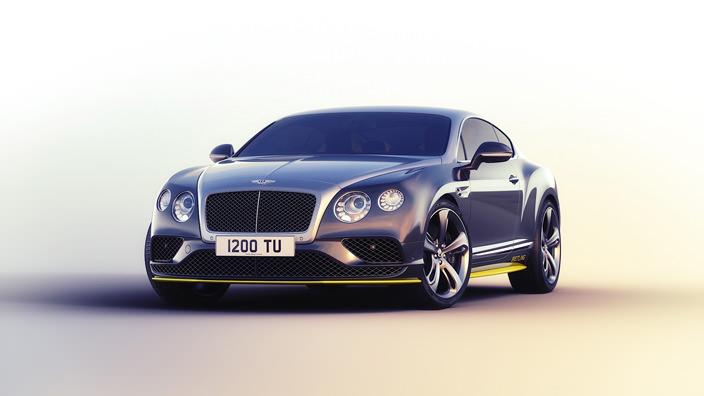Купе Bentley Continental GT Speed Breitling Jet Team   фото