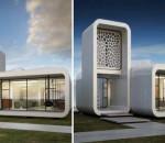 Дом, напечатанный на 3D-принтере от WinSun Global | фото