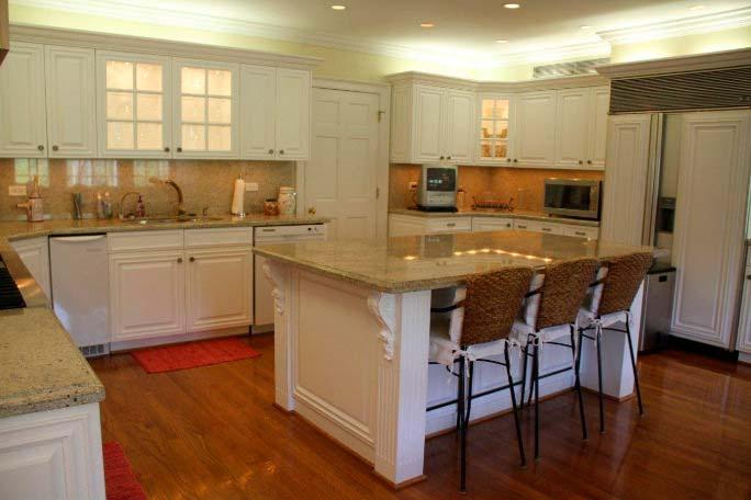 Фото | Кухонный остров в интерьере