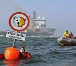 Суд заставил Greenpeace выплатить штраф за блокаду судна Shell