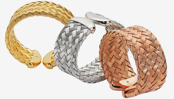 Роберто Коин представил коллекцию плетеных украшений | фото