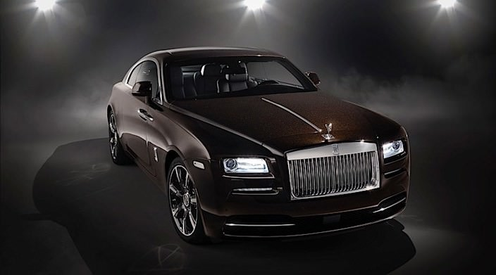 Купе Rolls-Royce Wraith, вдохновленное музыкой | фото