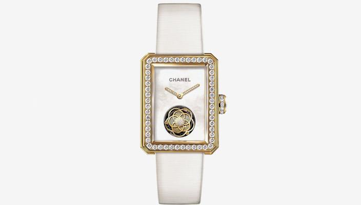 Chanel показал женские ювелирные часы с турбийоном | фото