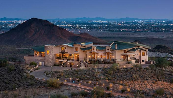 Великолепный дом в... пустыне Аризоны   фото, цена, инфо
