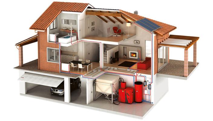 Современные системы отопления частных домов от Универсал-Про