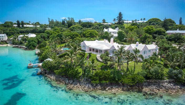 Продается роскошная вилла на Бермудах | фото, цена, инфо