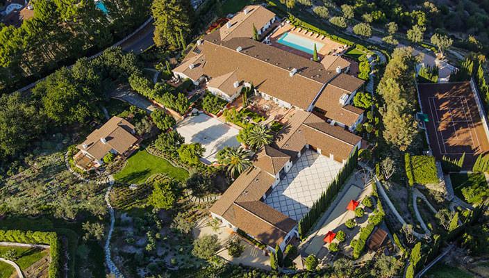 Уникальная вилла в Лос-Анджелесе за $53 млн | фото, инфо