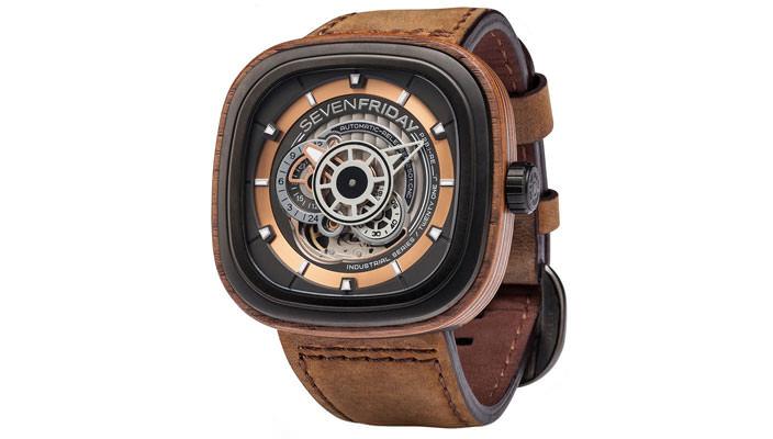 SevenFriday выпустила деревянные наручные часы   цена, фото
