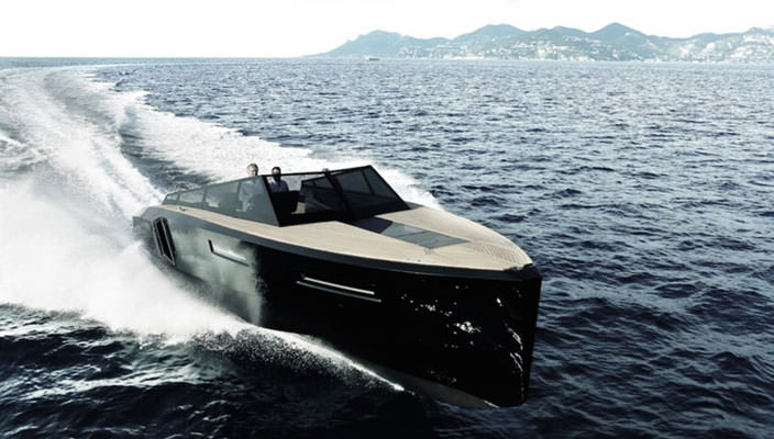 Модульный катер-трансформер Blu Martin Yachts Evo 43 | фото