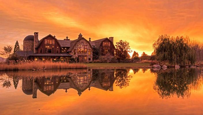 В Юте продают сказочный дом у озера | фото, видео, цена, инфо