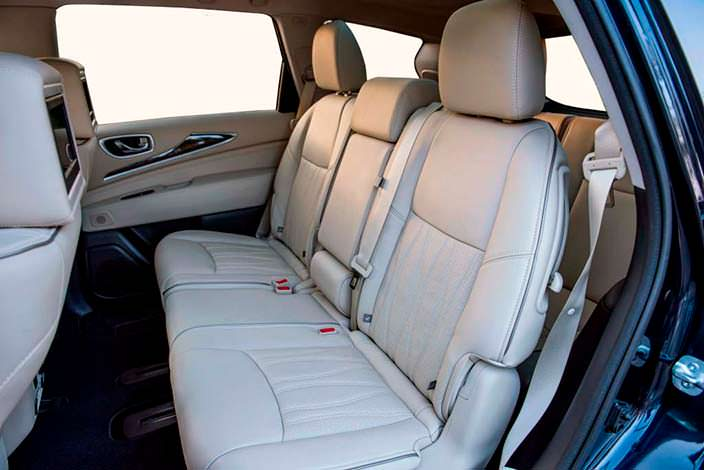 Фото | Infiniti QX60: авто с тремя рядами сидений