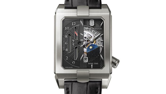 Вышли новые часы с двойным циферблатом Harry Winston | инфо