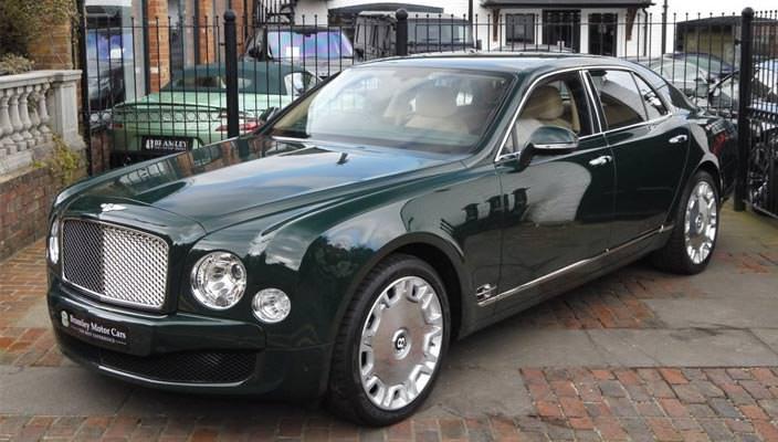 Bentley Mulsanne королевы Елизаветы II