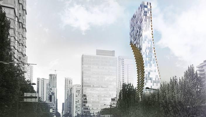 Kengo Kuma построит жилой небоскреб в Ванкувере