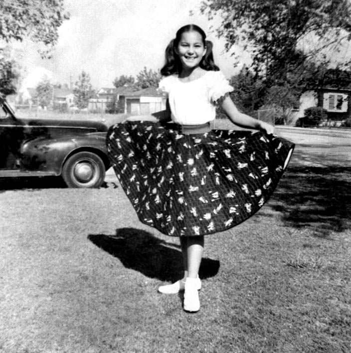 Детское фото Шер. 1955 год