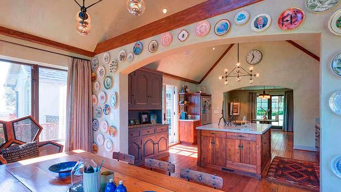 Деревенский дизайн кухни