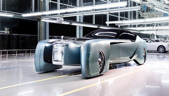 Прототип Rolls-Royce Vision Next 100