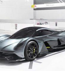 Гиперкар Aston Martin и Red Bull