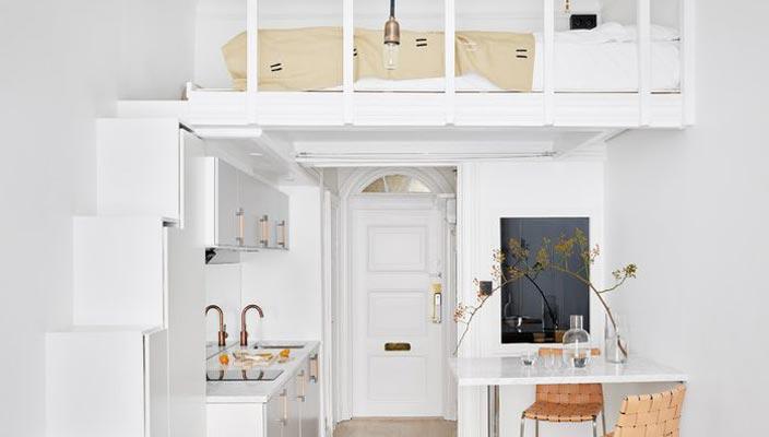 Функциональная квартира площадью 18 квадратных метров